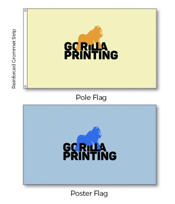 Custom Pole Flag 3