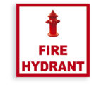 Sign Fire Hydrant